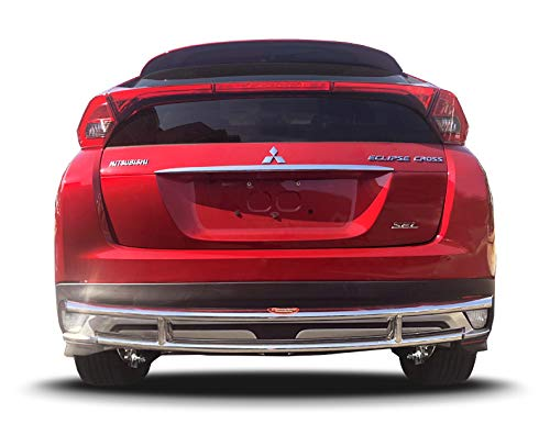 Broadfeet Rear Double Layer Bumper Guard Protector for Mitsubishi Eclipse Cross 2018+