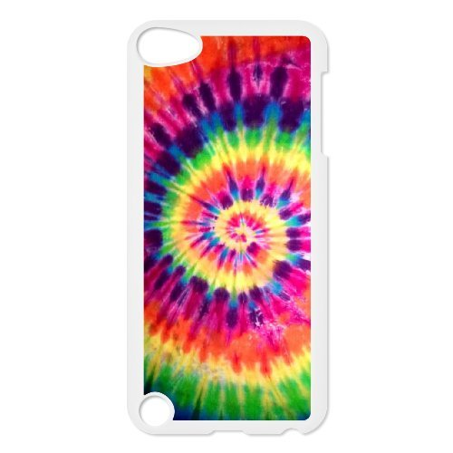 Brady iPod Touch 5 Case,Personalized Custom Abstract Tie dye ,Unique Design Protective TPU Hard Phone Case Cover (Ipod Touch 5 Tie Dye Case)