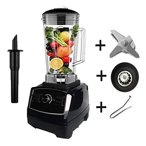 Quality G5200 Bpa Free 3Hp 2200W Heavy Duty Commercial Blender Juicer Ice Smoothie Professional Processor Mixer,Black Full Parts,Au Plug