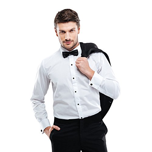 Slim Fit Tuxedo Shirt Microfiber Tuxedo Shirt