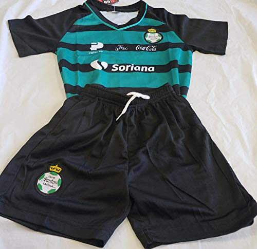 New! Santos Laguna Generic Replica Set Kids M (5-6 Years) by Sport