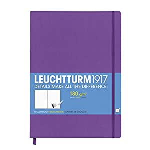 Leuchtturm1917 Hardcover Master A4 Sketchbook Purple / Lilac / Lavender