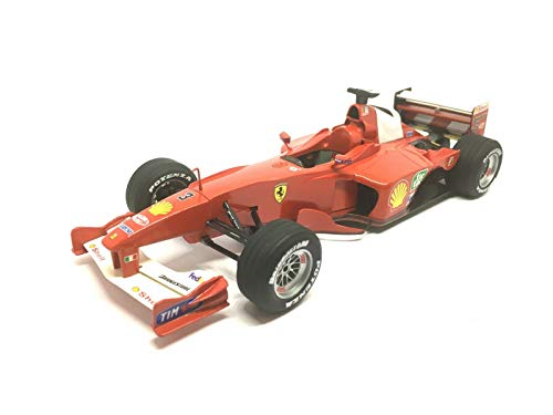 Ferrari F1-2000 Michael Schumacher Formula One 1/24 Scale Collectible Model Car (Made of Plastic, Wheels do not Spin)