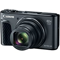 Canon PowerShot SX730 Digital Camera w/40x Optical Zoom & 3 Inch Tilt LCD - Wi-Fi, NFC, & Bluetooth Enabled (Black)
