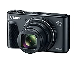 Canon Powershot Sx730 Digital Camera W40x Optical Zoom & 3 Inch Tilt Lcd - Wi-fi, Nfc, & Bluetooth Enabled (Black)