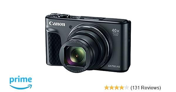 Amazon com : Canon PowerShot SX730 Digital Camera w/40x Optical Zoom