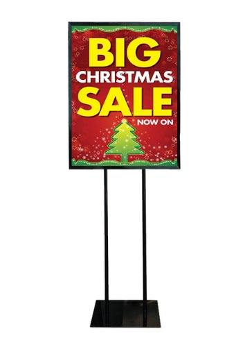 Fantastic Displays Poster Stand for Retail Stores, Shops, and Malls