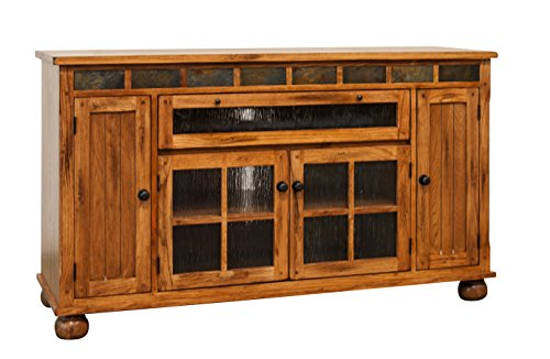 - Sunny Designs Sedona 62 in. Counter Height TV Console