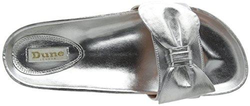 Duna Donne Delle Silver Flop Fenela Flip argento wpgq77