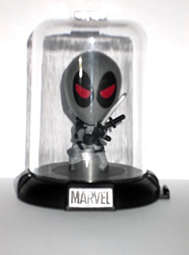 Deadpool Weapon X Costumes (Marvel Deadpool Collectible Original Mini's Domez ~ Deadpool X-Force Pose 6 Domed Collectible Mini Character (Opened to Identify))