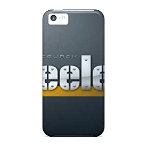 SUNY Design High Quality Pittsburgh Steelers Cover Case With Excellent Style For Iphone 5c