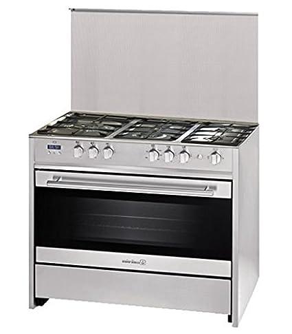 Cocina de gas G911D1X MONZA 90 cm: Amazon.es: Grandes ...