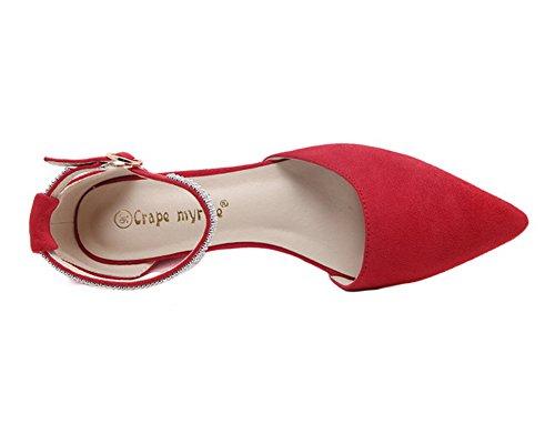 Red Sandali Zeppa con Rosso 1TO9Mmsg00339 donna 35 TFdnXwnqx