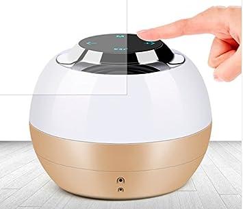 Amazon.com: Altavoz Bluetooth con pantalla táctil y tarjeta ...