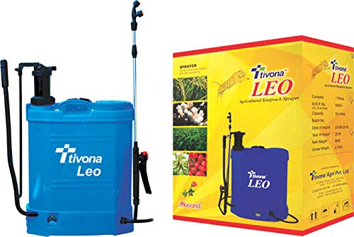 Tivona Leo- Agricultural Hand Cum Battery Operated Knapsack Sprayer with Single Discharge Line (2 in 1)