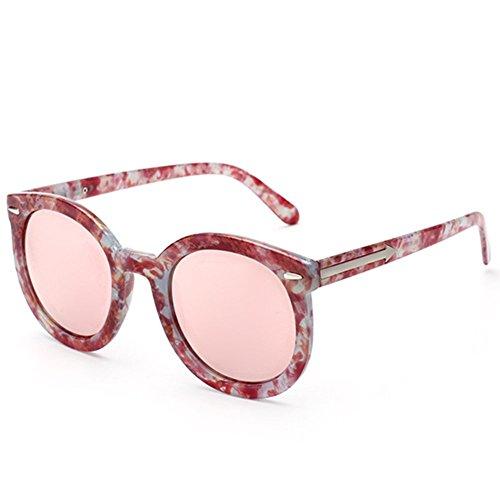 [Hikote #6671 Man Women Oval Summer Fashion Personality Sunglasses(C3)] (Morpheus Costumes Sunglasses)