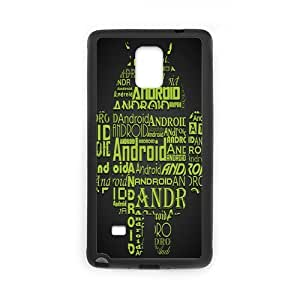 Classic Case Robot pattern design For Samsung Galaxy Note 4 Phone Case