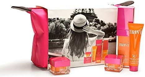 NAVI Neceser Viaje/Set de belleza & Cremas faciales mujer/Kit ...