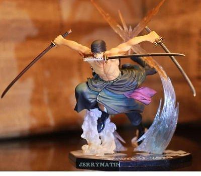 "TONGROU 6.7"" / 17cm Fight Battle Ver RORONOA Action Figure Toy No Box"