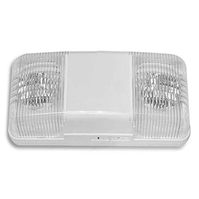 Emergency Light - Adjustable Lamp Heads - Architectural Design - Tamper Resistant - Exitronix LL30