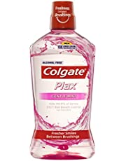 Colgate Plax Antibacterial Alcohol Free Bad Breath Control Mouthwash Gentle Mint 1L