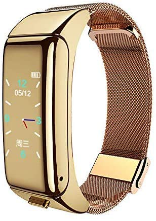 HAYEDF Smart Sports Bracelet Watch Color Screen Touch Sleep Monitoring Recognizes Real-Time Heart Rate Detection D