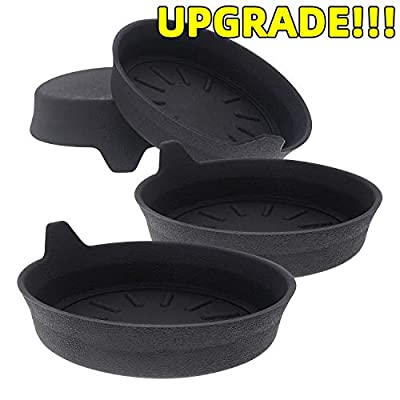 AOOOOP Car Cup Holder Coasters - Universal Vehicle Cup Silicone Coaster for Acura Audi VW Honda Toyota KIA BMW Lexus Jeep Dodge Benz Volvo Chevrolet Nissan Infiniti Ford (Set of 4, 3-1/8