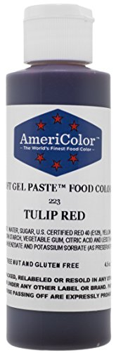 Americolor Soft Gel Paste Food Color, 4.5-Ounce, Tulip - Colours Tulip