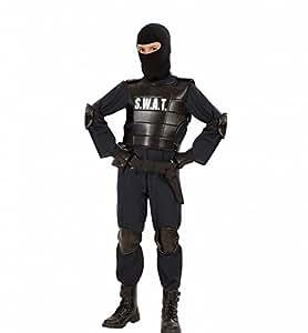 S.W.A.T. - Disfraz de oficial SWAT para niño, talla 13 años (55348)