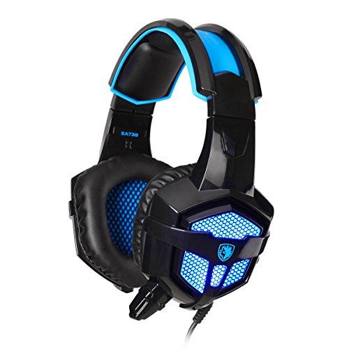 gaming-headphonessades-sa-738-35mm-usb-plug-lightweight-over-ear-pc-headset-with-microphone-pu-ear-p