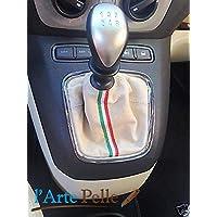 Lancia Musa cuffia Cambio Bianco e Tricolore