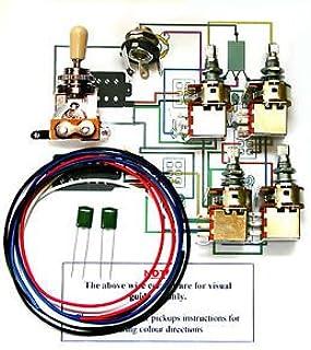 41ylfPzeRVL._AC_UL320_SR296320_ genuine epiphone wiring harness alpha pots switch jack new amazon guitar wiring harness kits at highcare.asia