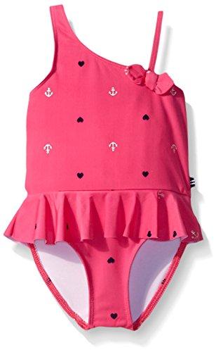 Nautica Sportswear Girls Anchor Swimsuit