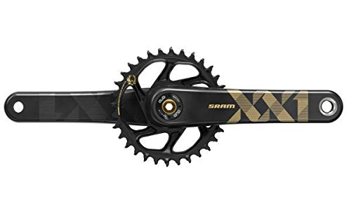 SRAM XX1 Eagle DUB 175mm 34t X-Sync 2 Direct Mount Chainring Gold Crankset by SRAM