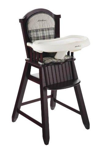 Eddie Bauer Wood High Chair Stonewood