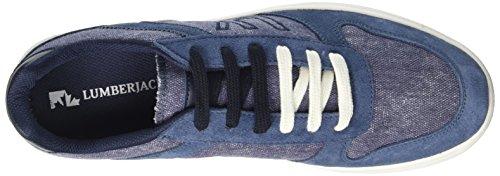 Lumberjack Wolf - deportivas bajas Hombre Blu (Jeans/Avio)