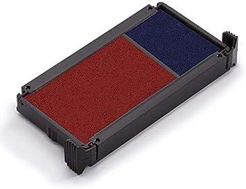 Trodat Office Printy 4912 Timbro Autoinchiostrante con Testo Commerciale COPIA Bicolore Blu-Rosso 47 x 18 mm