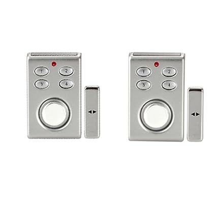 Wolfwhoop Sp65sx2 Magnetic Contact Door Window Entry Alarm With