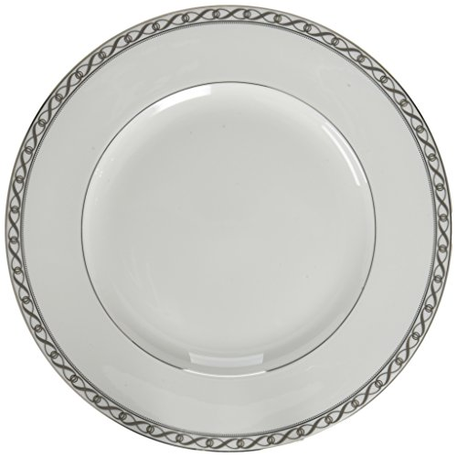 """Mikasa Infinity Band Dinner Plate, 10.75"""", Assorted"""