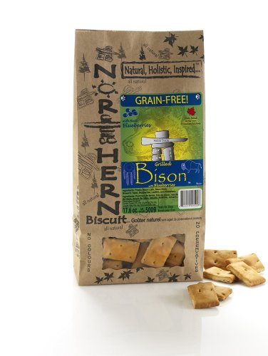 Northern Biscuit Grain-Free Grilled Bison w/ Real Blueberries Dog Treat, My Pet Supplies