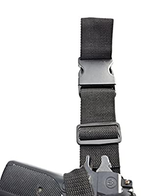 "OUTBAGS OB-10TAC Nylon Tactical Drop Leg Holster for Colt Python 6"", Colt Trooper 6"", Dan Wesson 357 6"", Ruger 357 6"", Ruger Blackhawk 6"", Ruger GP100 6"", Ruger Security Six 6"", S&W 357 6"", S&W 66 6"", S&W 686 6"", Taurus 357 6"", Taurus 44 6"", Taurus 608 6"""