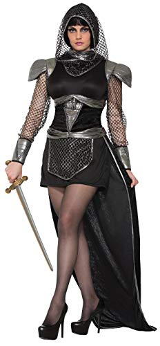 Forum 76358 Women's Knight Of Glamour Costume, Medium/Large, Multicolor, Pack of 1 -