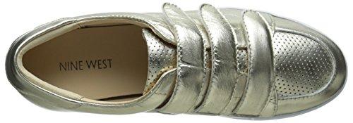 Oro Delle Donne Ovest Hidrate Metallico Moda Sneaker Oro Chiaro