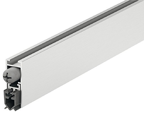 GedoTec Room Door Seal Drop-Down Seal Star-Seal Draft Stopper Length 630 mm Universal sealant for...