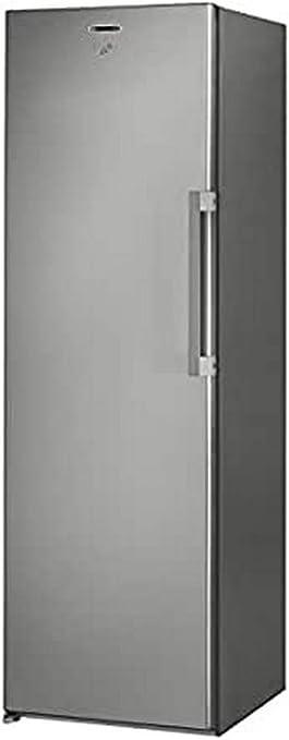 Whirlpool UW8 F2Y XBI F Independiente Vertical 260L A+ Congelador Vertical, 260 L, 22 kg//24h, SN-T, Sistema de descongelado, A++ Acero inoxidable