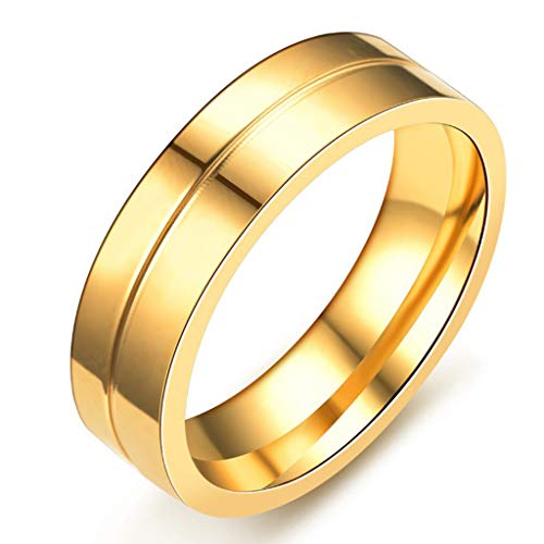 ❤❤Ratoop❤❤Stylish and Simple New Titanium Steel Couple Ring Jewelry by Ratoop-rings (Image #2)
