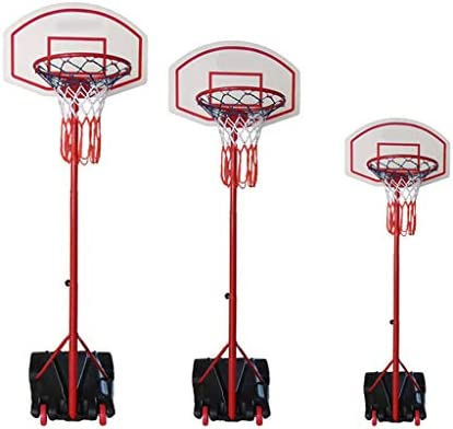バスケットボールは、屋内と屋外のラックホームはアダルトチルドレンズバスケット床に立っスポーツアウトドア親子撮影機を持ち上げることができます