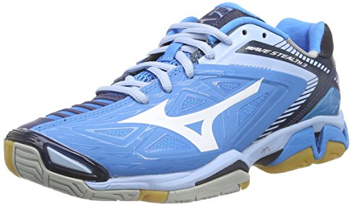 Wave Blue Shoes 3 Women's Handball Stealth Mizuno pdqZZ