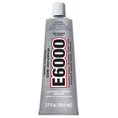 E6000 High Viscosity Adhesive, 3.7 Fluid Ounces