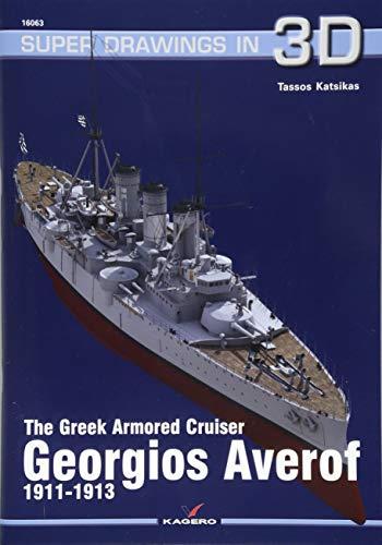 Armored Cruiser - The Greek Armored Cruiser Georgios Averof 1911-1913 (Super Drawings in 3D)